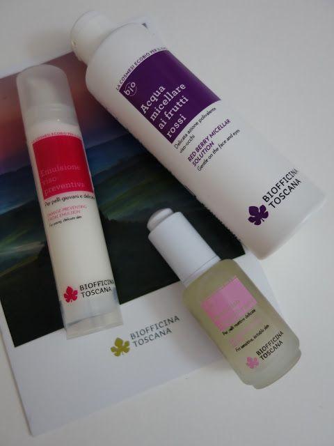 All my cosmetics: Pleťová péče Biofficina Toscana