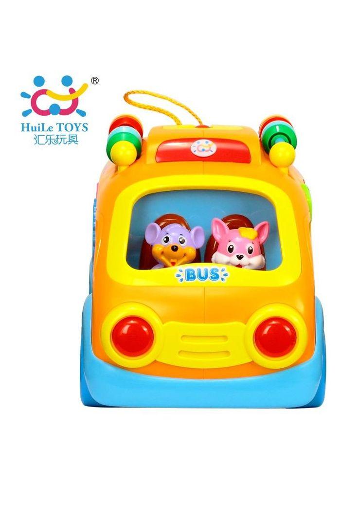 """Игрушка Huile Toys """"Веселый автобус""""  Цена: 630 UAH  Артикул: 988  Игрушка """"Веселый автобус"""" поможет развить способности малыша в пяти различных областях – физическое развитие, мелкая моторика, разговорные навыки, познавательная способность, социальные навыки.  Подробнее о товаре на нашем сайте: https://prokids.pro/catalog/igrushki/igrushki_dlya_malchikov/avto_moto_tekhnika/igrushka_huile_toys_veselyy_avtobus/"""