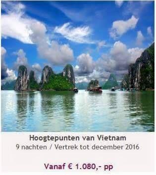 Schitterende reis naar Vietnam. In samenwerking met een Vietnam specialist. Vraag naar de mogelijkheden en meer informatie over de reis. Tevens altijd aan te passen naar eigen wens.   patricia@travelcounsellors.nl
