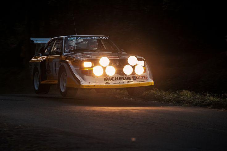 Audi Quattro S2 Gruppe B Rallye
