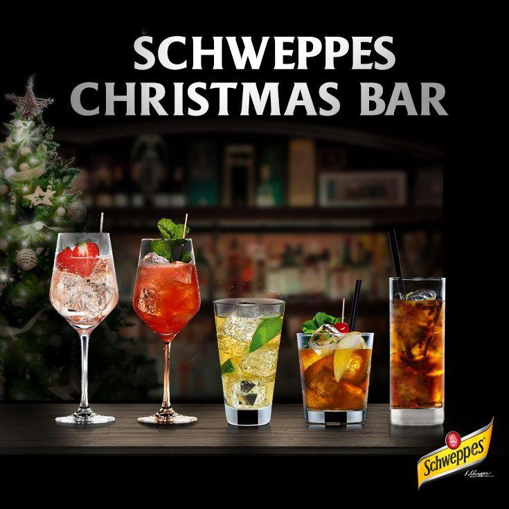 Schweppes Christmas Bar. Jetzt täglich 1 von insgesamt 1000 Schweppes Paketen mit Aperol, Jägermeister, Jim Beam Apple, Lillet oder PIMM's gewinnen. Mit nur einem Klick.