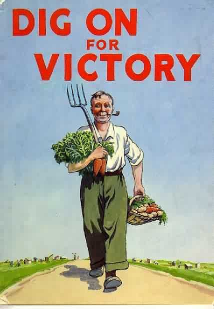 Dig on for Victory. 1940s