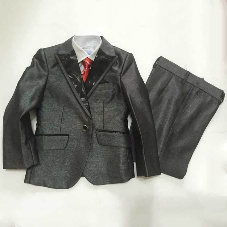 >> Click to Buy << Boys Wedding Tuxedo Jacket Vest and Pant 3PCS Kids Clothes Children Grey Formal Suits Quality Fashion Terno for Ceremony Party #Affiliate