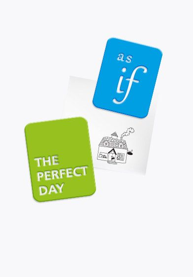 Pair of Coloful Inspiration sentence Magnets - set of 2 rectangle magnets with a nice sentences- for a good day