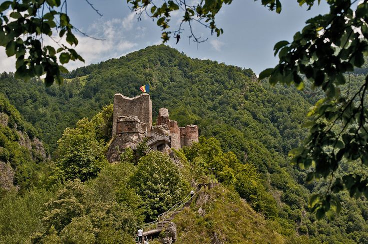 The Real Dracula's Castle.Poenari Castle was erected on a most formidable and impenetrable peak in the Carpathian Mountains around the beginning of the 13th century by the Basarab rulers of Wallachia. In the 15th century, one of these rulers was Vlad III, otherwise known as Vlad Tepes, the Impaler or more famously, Dracula.