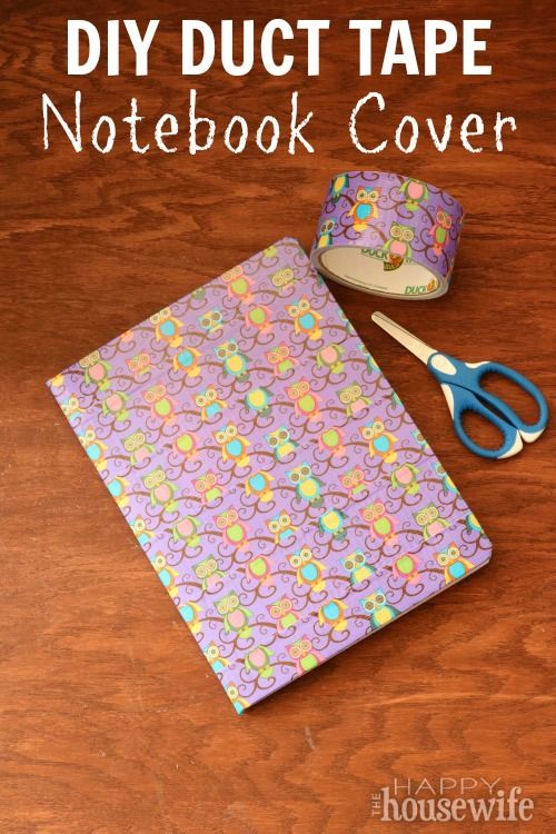 Duct Tape Composition Notebook Cover