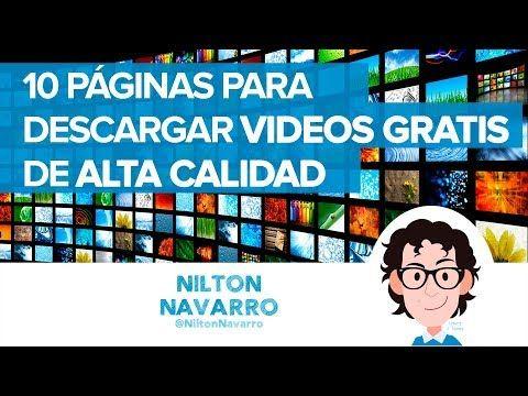 10 Páginas para descargar videos gratis de alta calidad HD 4K (vídeo) #design