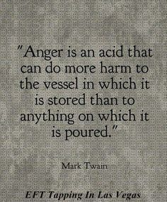 Do you have anger issues? Are your thoughts often negative? If so, join us on our EFT Tapping in Las Vegas page and found out more in regards to exactly what this quote means. #efttappinglasvegas #efttapping