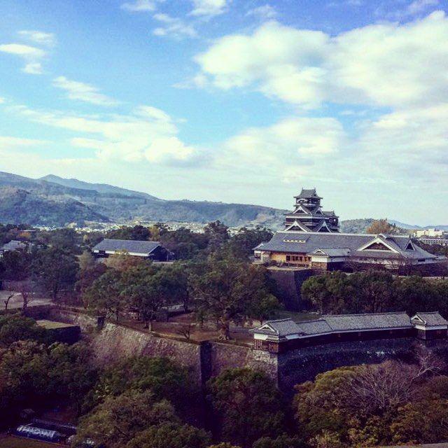 Chateau de kumamoto #kumamoto#amazing#japan#sohappy#trip#schooltrip#paysage#voyage#asian#panorama#life#adventure#adventuretime#instagood#topoftheworld by lilia_lgs