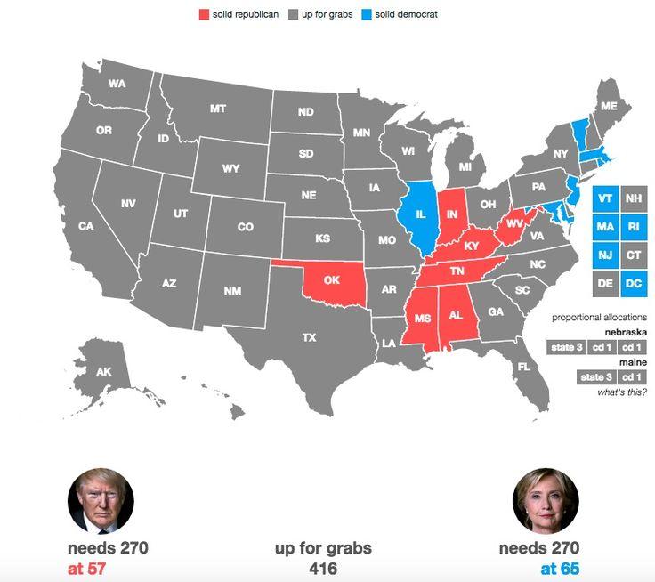 Hillary Clinton Wins Illinois