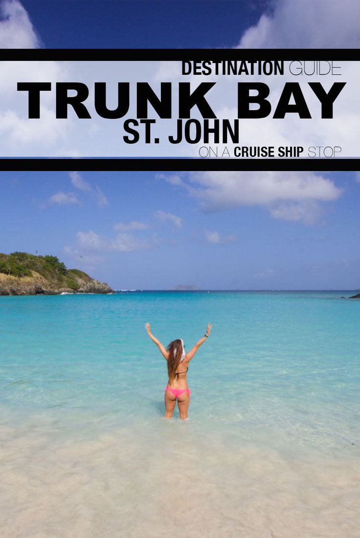 St Thomas Map Virgin Islands%0A How To Visit Trunk Bay on a St  Thomas Cruise Ship Stop