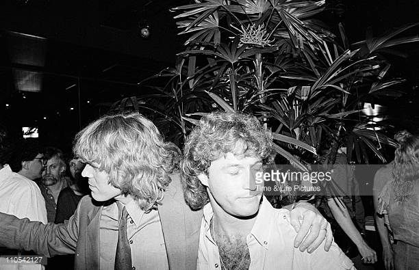 Andy Gibb and Peter Noone