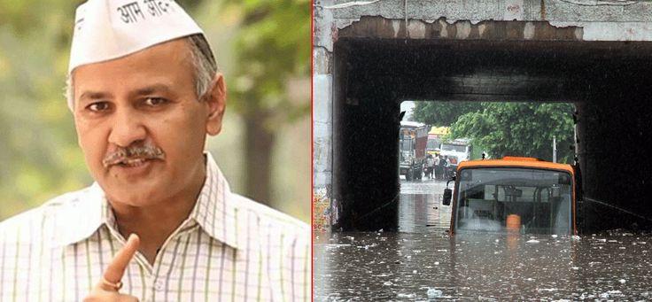 जलभराव पर उपमुख्यमंत्री ने बुलाई एजेंसियों की बैठक, चौबीस घंटे में मांगी रिपोर्ट  #water logging problem in delhi #delhi ncr news #capital of india #latest news #controversy #news in hindi