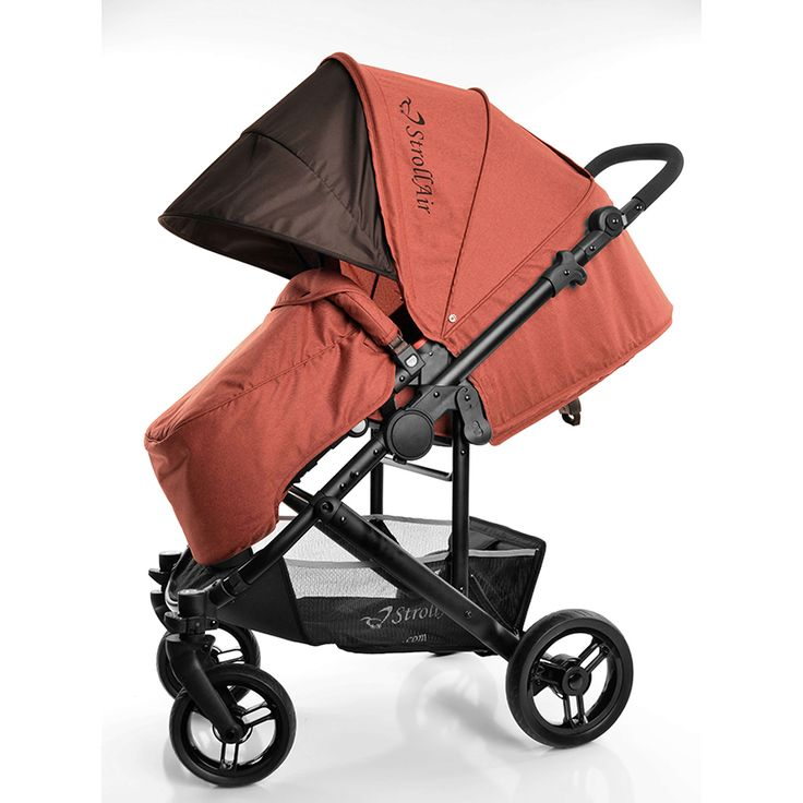 CosmoS Red Stroller The Best Single Stroller with Bassinette - StrollAir Baby Strollers   Best Single and Double Strollers