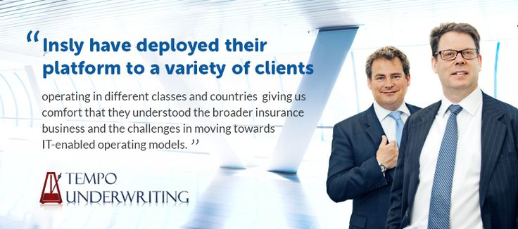 Customer Success Story: Tempo Underwriting launched an online Bond insurance trading pla...