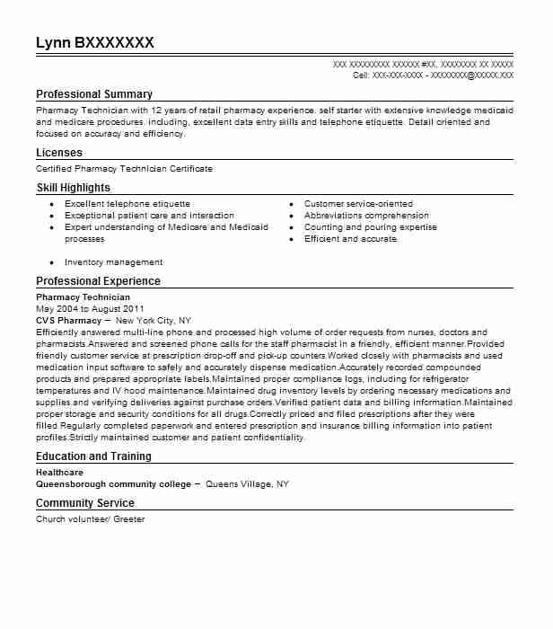 Do you have the tools you need to get a medical job? Check out our Pharmacy Technician Resume Example to learn the best resume writing style.