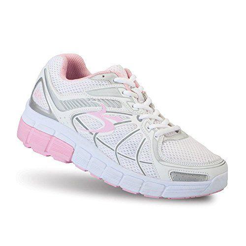 W & W Mujeres Señoras Sandalias de moda de noche Slip On comodidad ligera soporte de diamante zapatos tamaño (deseo), color Plateado, talla 36.5