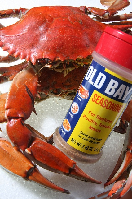 Nothing better than Baltimore crabs with Old Bay :)