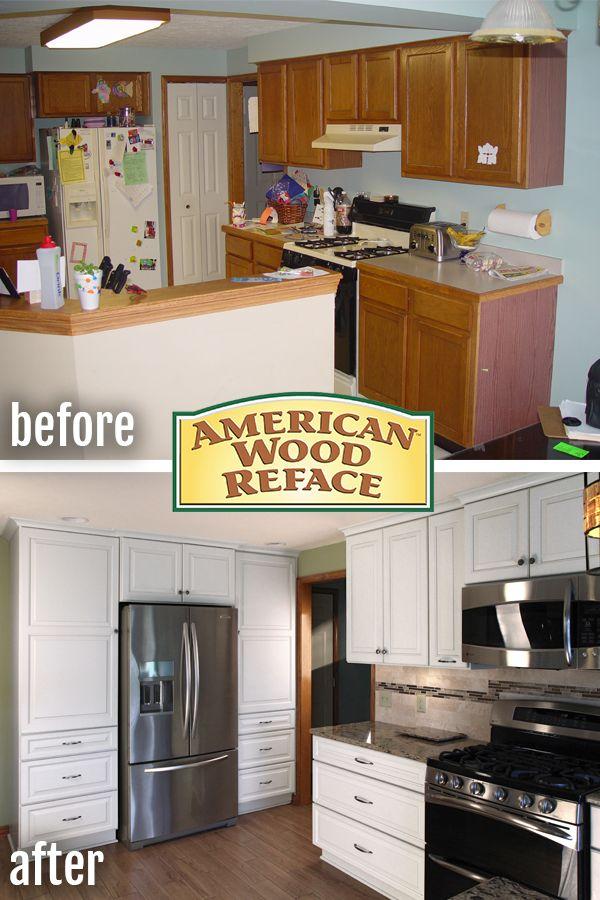 Small Kitchen Transformation Kitchen Transformation Kitchen