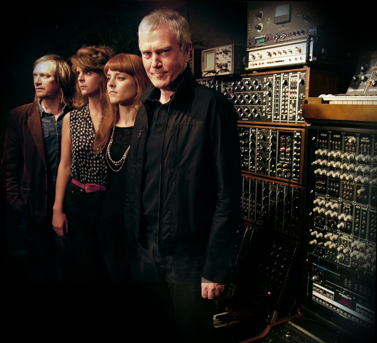 English synth legend John Foxx has been making waves ever since he left Ultravox for a solo career in 1979 - here he is as John Foxx and the Maths