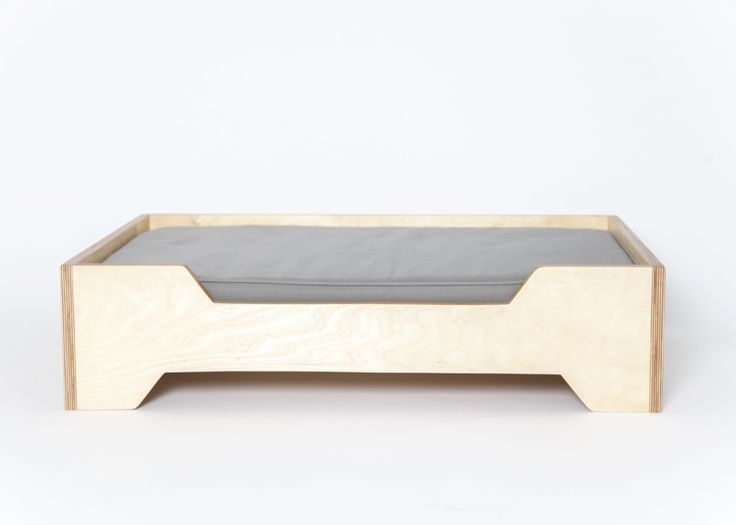 modern dog furniture. these modern raised dog beds by pup u0026 kit are handcrafted from solid wood and feature waterproof canvas cushions furniture t