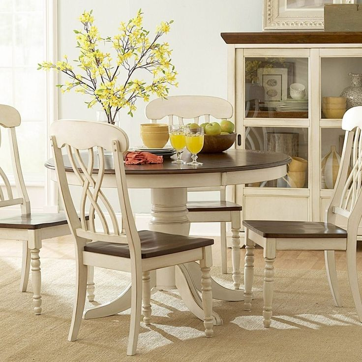 Round Kitchen Table Sets White