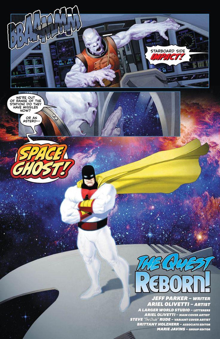 Future Quest Showcase   HQ de Space Ghost e Herculoides tem primeiras imagens reveladas; confira   Notícia   Omelete