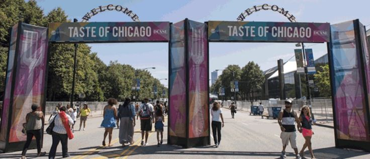 Taste of Chicago in Grant Park – Free Admission