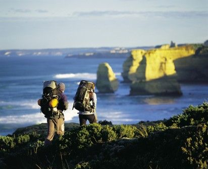 The Great Ocean Walk....from Apollo Bay to Princetown, Australia