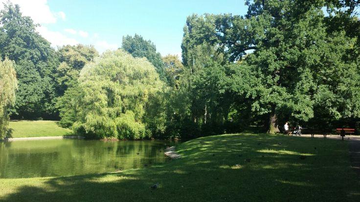 Park Źródliska in Łódź, Lódzkie
