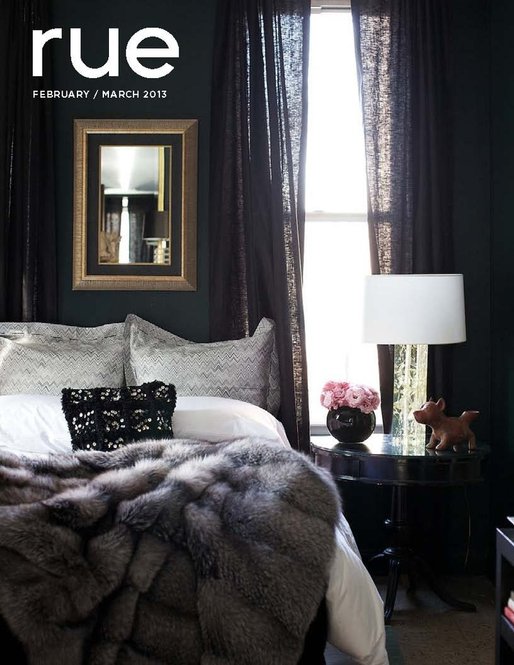 Rue magazine february-march/2013 #decor #interior #design #free