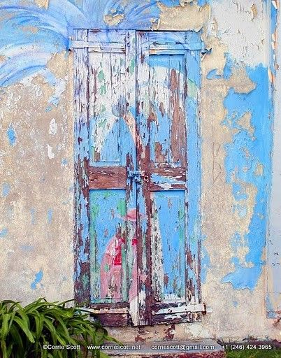 'Caribbean Door' in Grand Case, St Martin. photography
