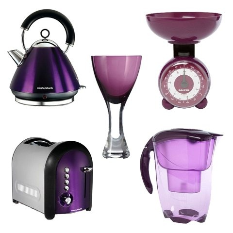 Add A Splash Of Purple To Your Kitchen   Gift List Gems For My Mom