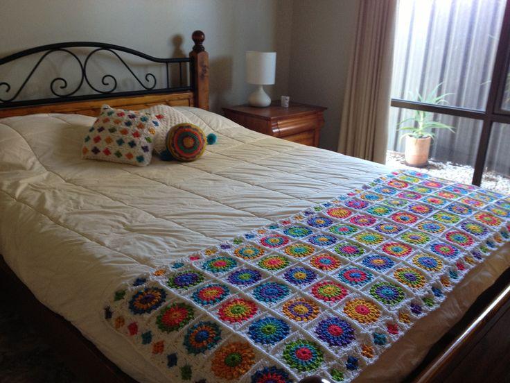 Terminado por fin! Piecera de crochet, By Cata san Martin