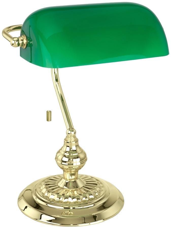 Bankers Desk Lamp Green Gl Shade Lighting