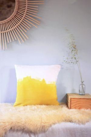 Coussin teinture végétale 39X39 cm