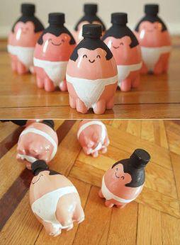 Ideas para hacer juguetes reciclados                                                                                                                                                     Más