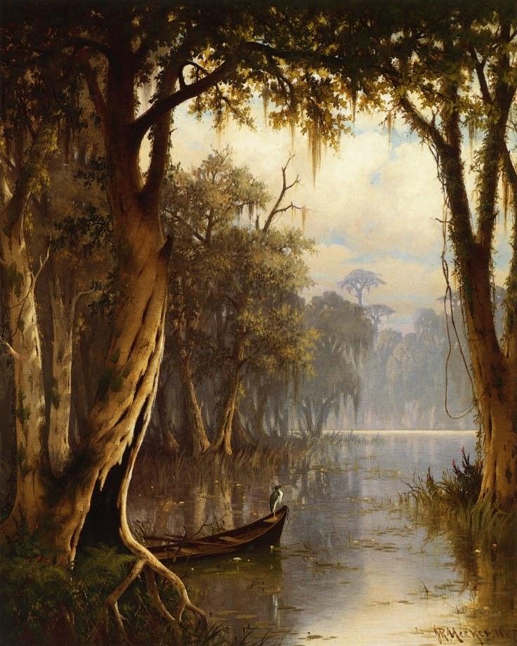 A beautiful Louisiana swamp picture!