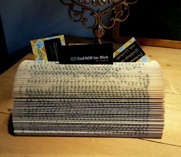 Buch Kartenständer