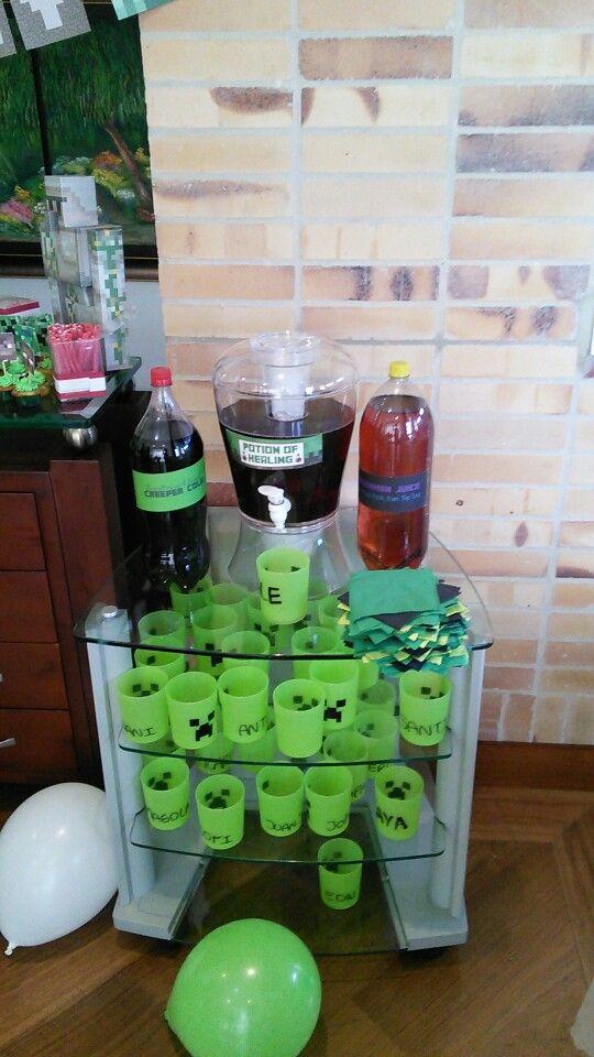 Soda station!