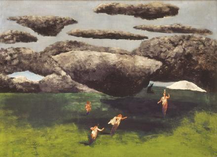 Návrat Theseův, 1933, by Josef Šíma
