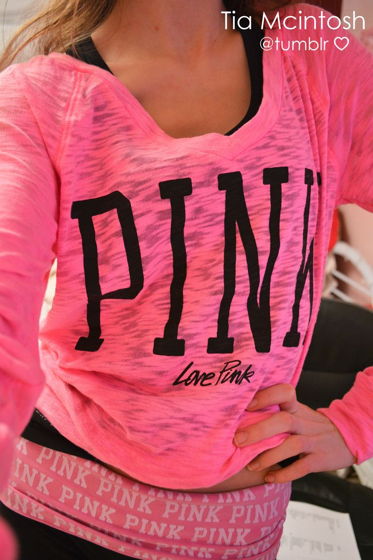 695 best Victoria Secret Pink images on Pinterest | Blouses ...