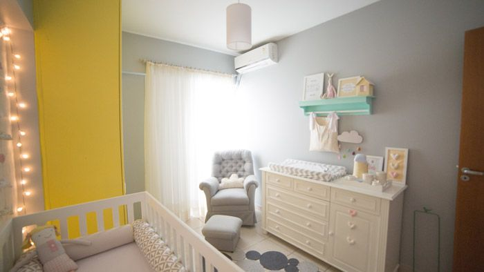 Quartinho da Bela – Branco   Cinza   Amarelo