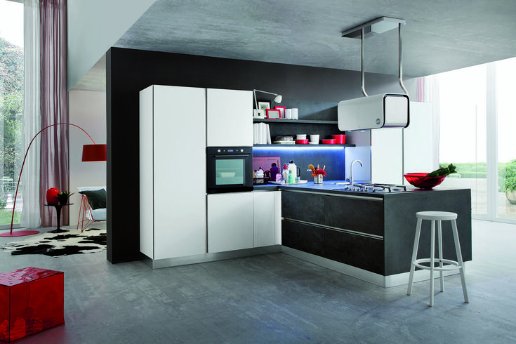 Cucina moderna Myglass di Gicinque  http://gicinque.com/it_IT/products/1/gallery/2/line/67/composition/120