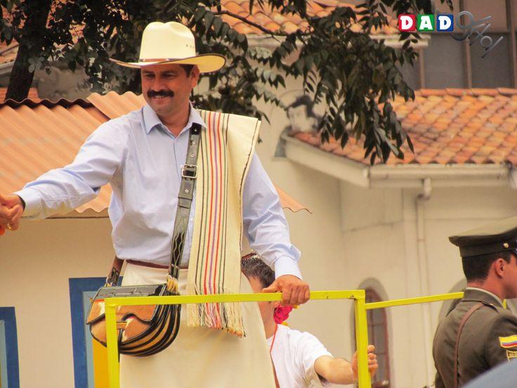 Juan Valdez desfile Bogotá