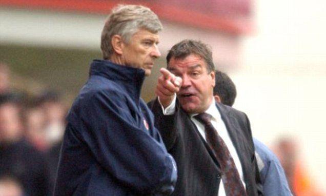 Arsenal boss Arsene Wenger's old rival Sam Allardyce