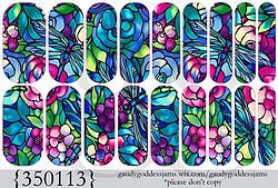 350113 Watercolor Dragonfly - Jamberry NAS