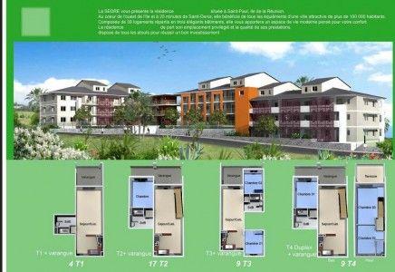 Programme immobilier neuf en défiscalisation Outre Mer à Saint Gilles Les Bains de la Réunion