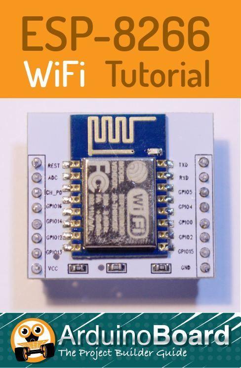 ESP8266 Tutorial | digital projects | Iot projects, Esp8266