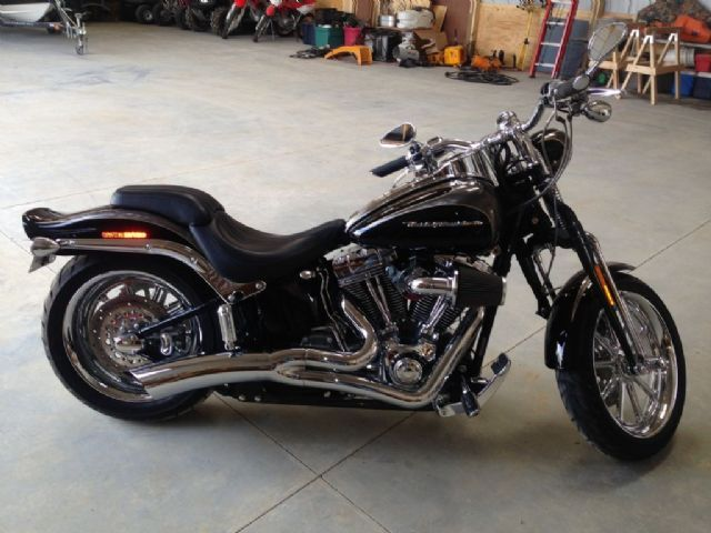 2008 Harley-Davidson FXSTSSE2 Cruiser , black, 1,891 miles for sale in Fredonia, KS